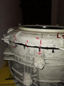 Wymiana łożysk w pralce Ariston WML601EU - naprawiaj, nie wyrzucaj