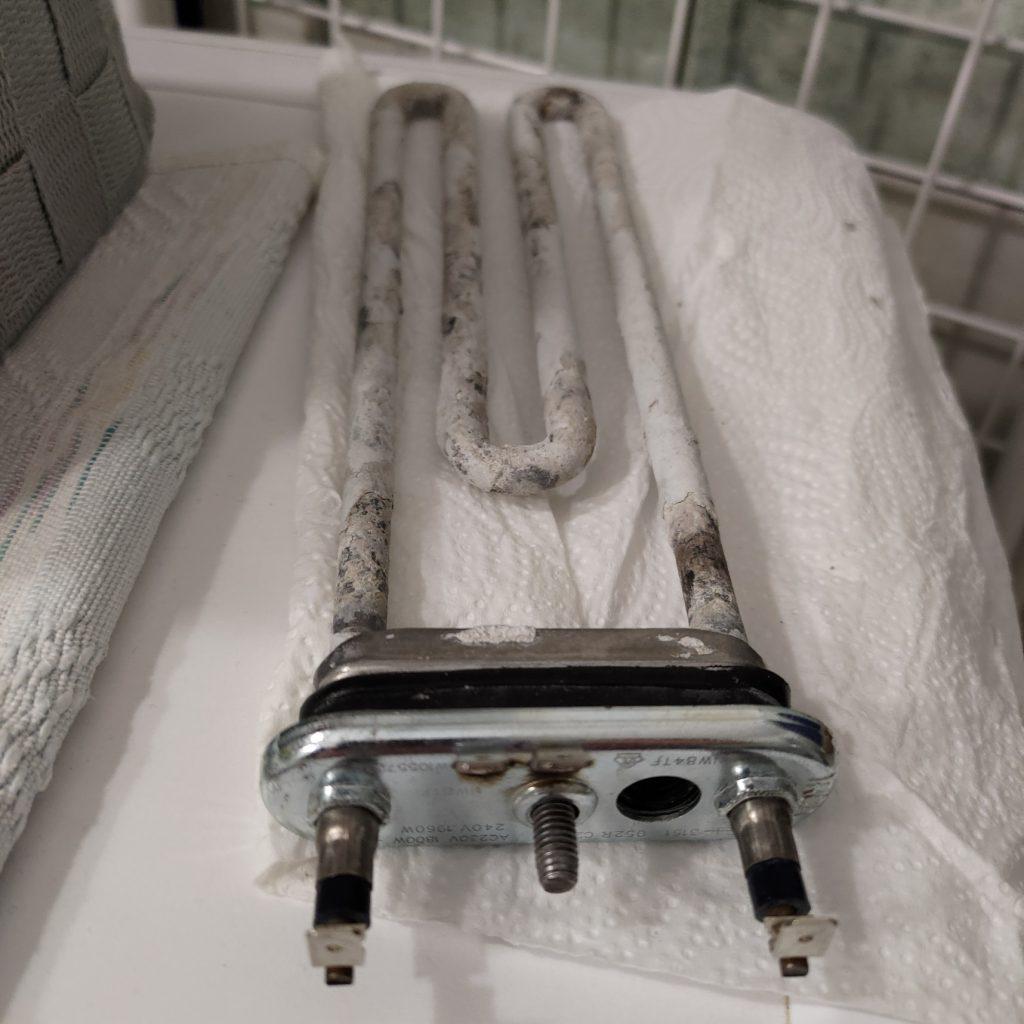 Wymiana grzałki w pralce