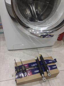 Wymiana amortyzatorów i sprężyn w pralce Candy - naprawiaj, nie wyrzucaj
