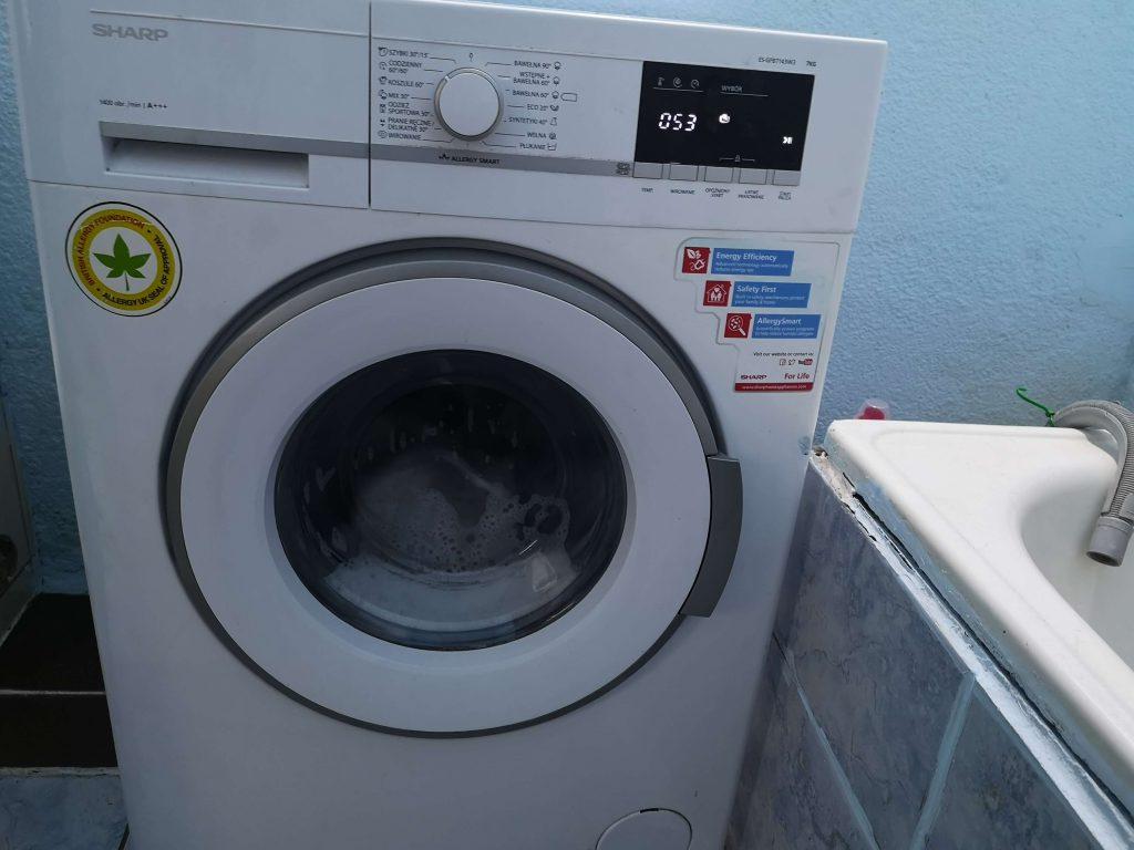 Wymiana bębna w pralce Sharp