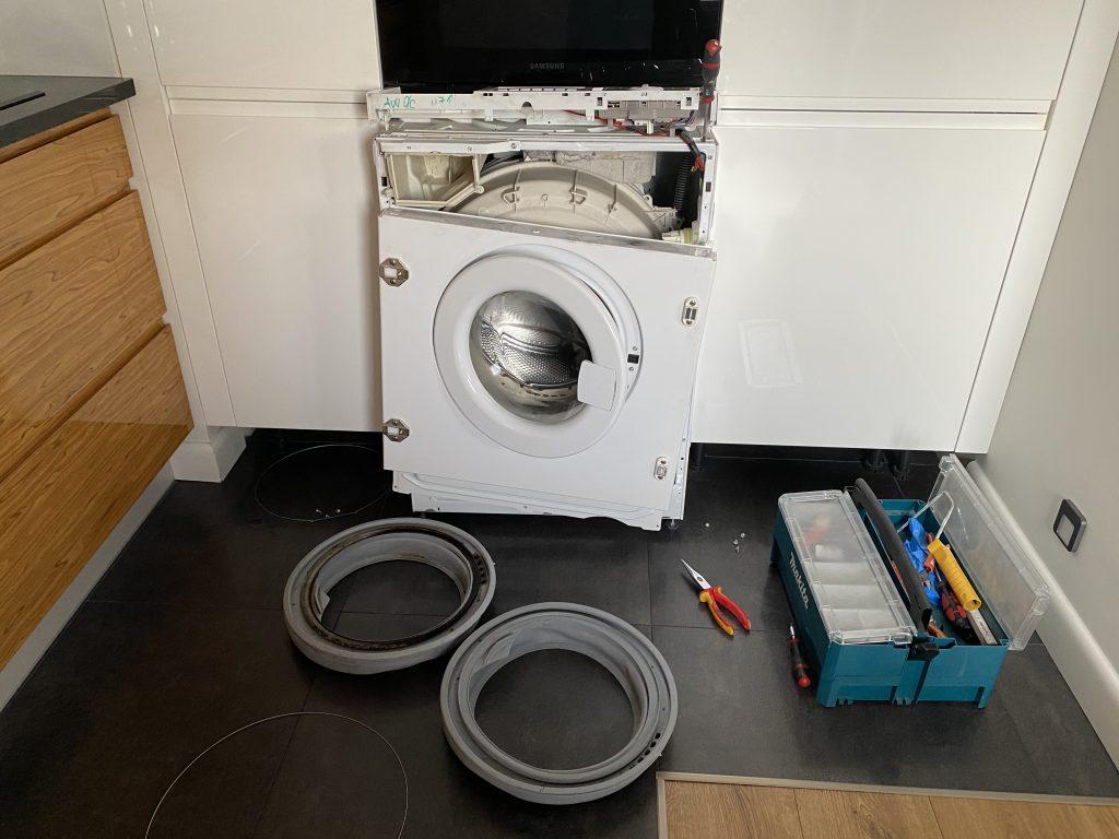 Wymiana fartucha w pralce