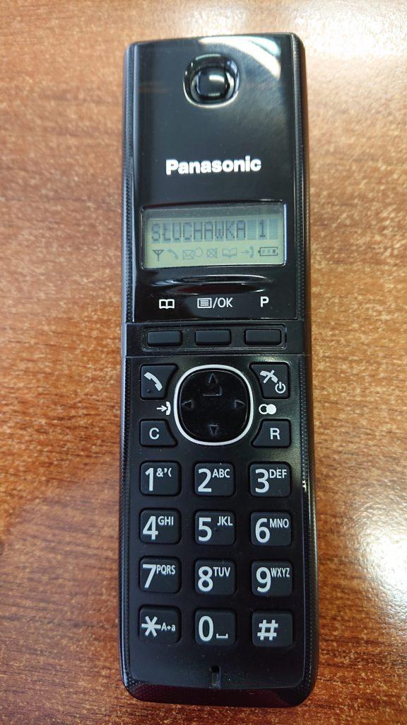 Wymiana klawiatury w telefonie stacjonarnym Panasonic