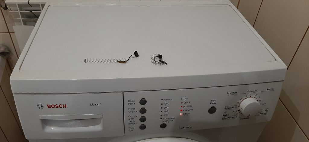 Wymiana szczotek w pralce Bosch