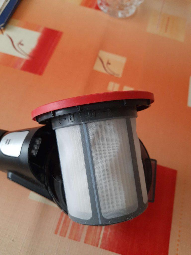 Wymiana filtra Bosch