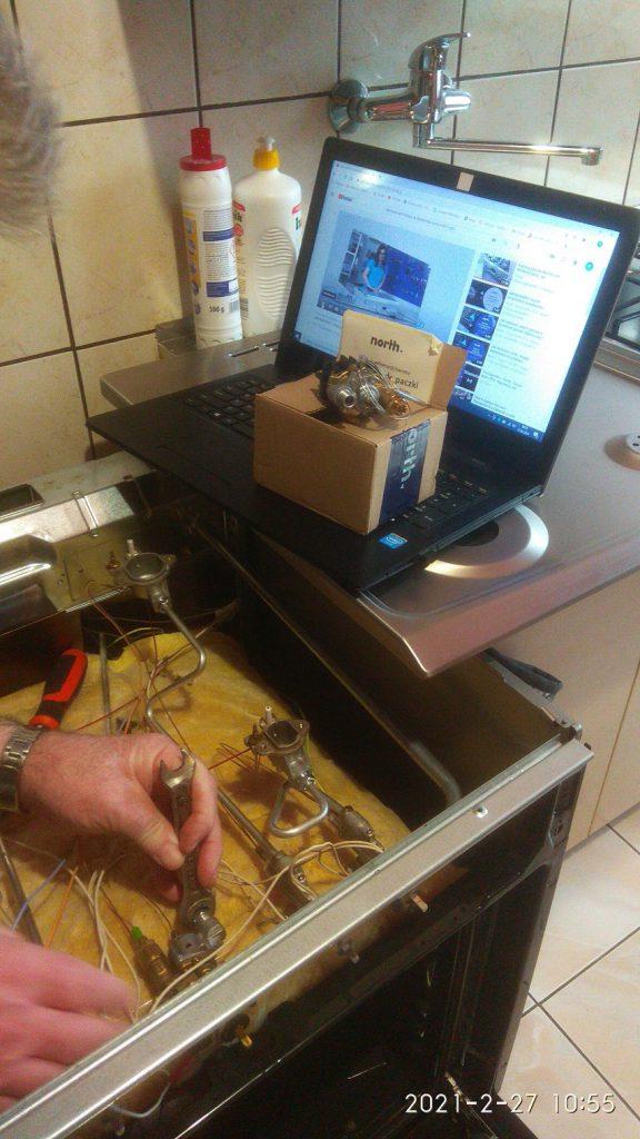 Wymiana zaworu gazowego piekarnika - naprawiaj, nie wyrzucaj