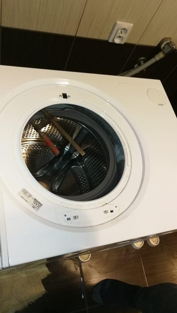 Wymiana fartucha w pralce Beko
