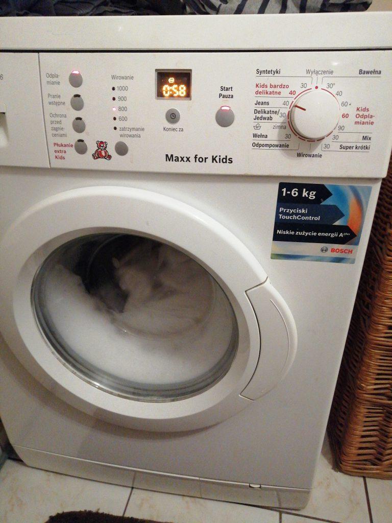 Wymiana sprężyny bębna w pralce Bosch