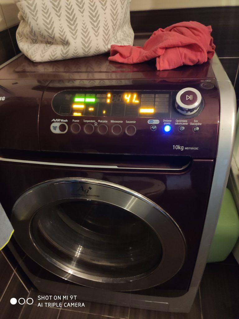 Wymiana pierścienia w pralce Samsung WD 7101