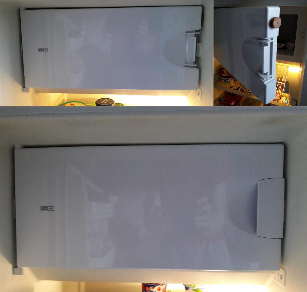 Wymiana uchwytu drzwiczek w lodówce Whirlpool ART 594/G