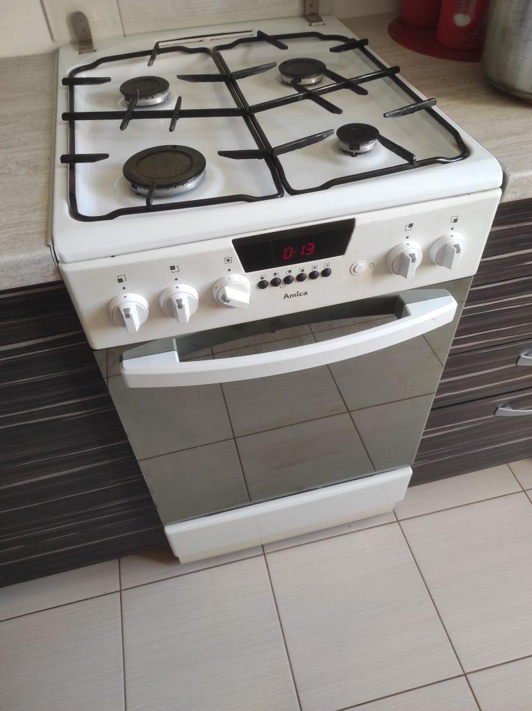 Wymiana iskrownika, termopary i zaworu w kuchence gazowej Amica