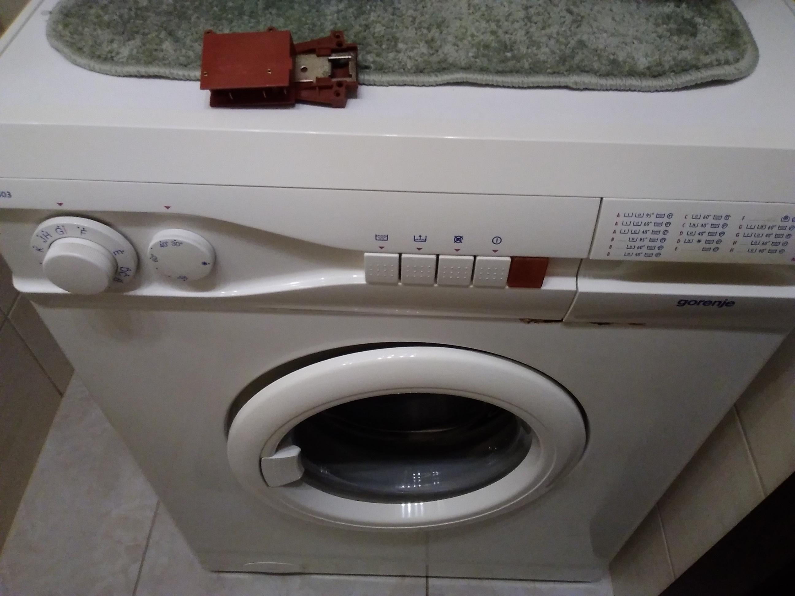 Wymiana blokady w pralce Gorenje - naprawiaj, nie wyrzucaj